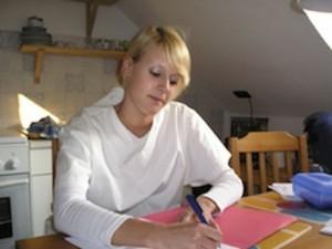 nurse at desk